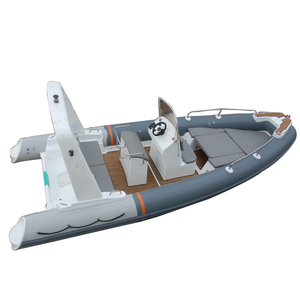 CE Certificate Chinese fiberglass hull inflatable boat in hot sale