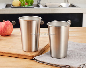 customized Factory price metal tin mug/Standard metal beer pint cup/Cylinder tin cup for drink