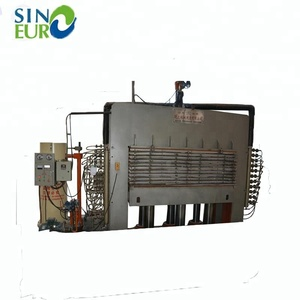 Assembled 15 layers 600T hot press for plywood making machine