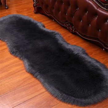 Home Decoration 100% Acrylic Faux Sheepskin Fur