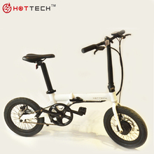 Hottech 2018 New Launched Battery Aluminum Folding Electric Bike