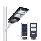 Solar Light Sensor Street GEBOSUN High Quality ABS Motion Sensor Ip65 Outdoor 20w 40w 60w All in 1 Solar Led Street Light Prices