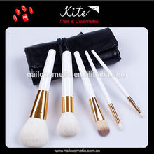 Hot fashion White Portable wholesale cheapest makeup brushes factory price