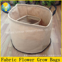Double sturdy and reinforced sewing camel PP/PETE non-woven fabric grow bags for mushroom, flowers, herbs