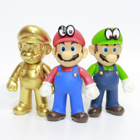 Japan cartoon anime figure Super Mario Bros action figure figurine