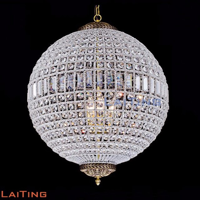 Buy cheap china wedding wholesale crystal chandelier products brone plated iron circle crystal pendant light modern chandelier for wedding tent 71153 aloadofball Images