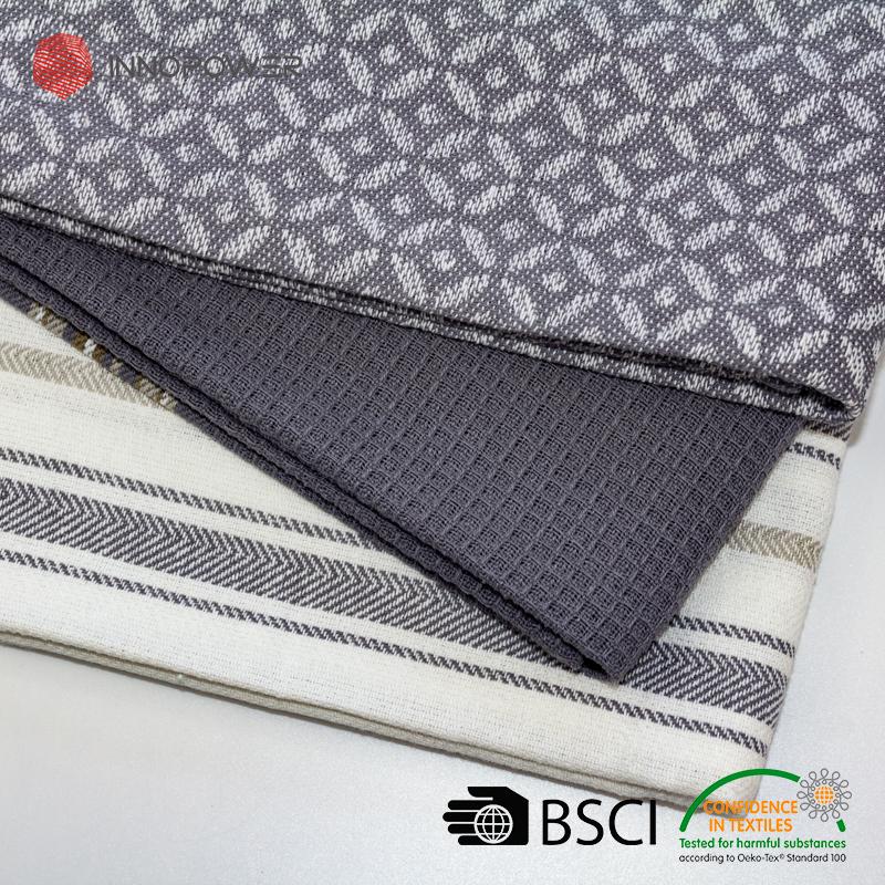 Cotton Yarn Dyed Grey Kitchen Towels Jacquard Tea Towels Aqua Textured  Terry Dish Towels - Buy Cotton Yarn Dyed Grey Kitchen Towels Jacquard Tea  ...