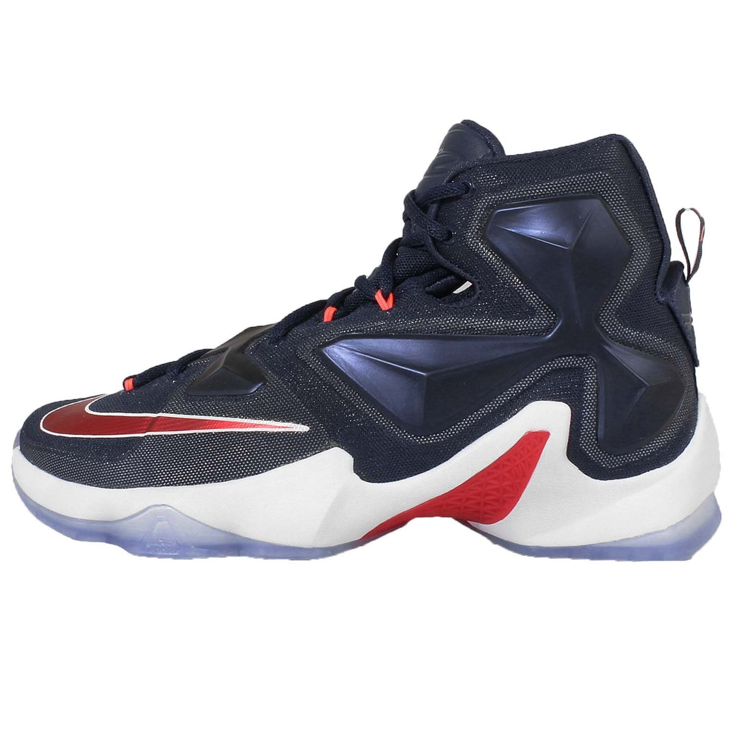new arrival f2c3f a2dc8 Get Quotations · Nike Men s Lebron XIII EP, USA-MID NAVY UNIVERSITY  RED-WHITE-