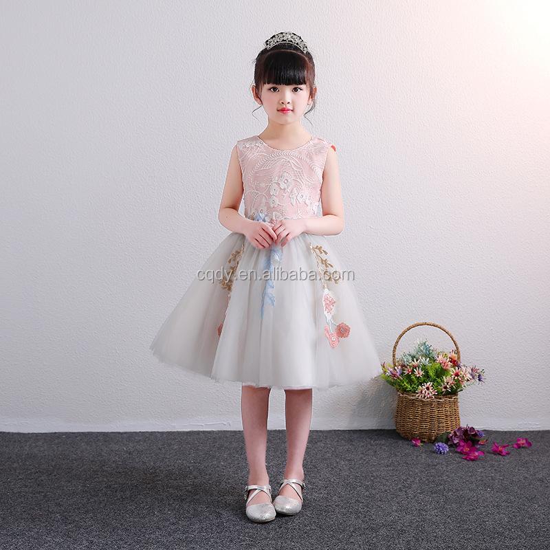 US Flower Girls Princess Dress Kids Baby Party Wedding Pageant Tutu Dresses