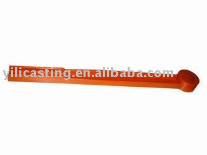 push rod part steel casting investment casting products lost wax casting Top China foundry hot-sale product