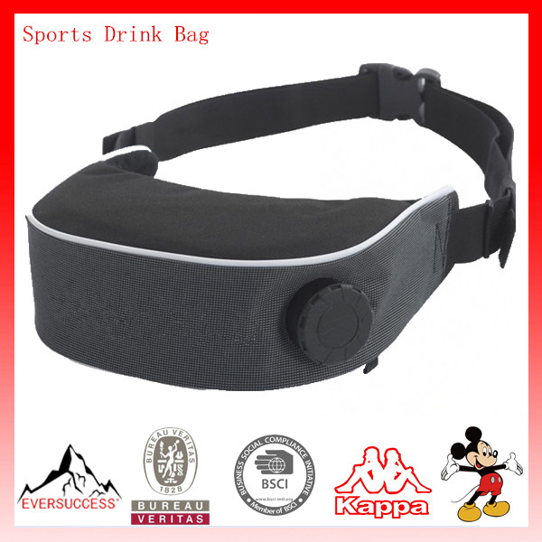 Athlete Waist Bag Water Belt Bag Sports Drink Bag with 1L Water Tank