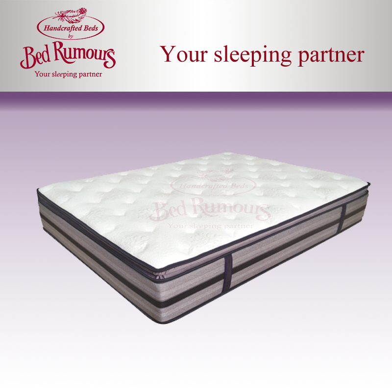 LUXURY 5FT KINGSIZE INTELLIGENCE POCKET SPRINGS LATEX MATTRESS ONLY
