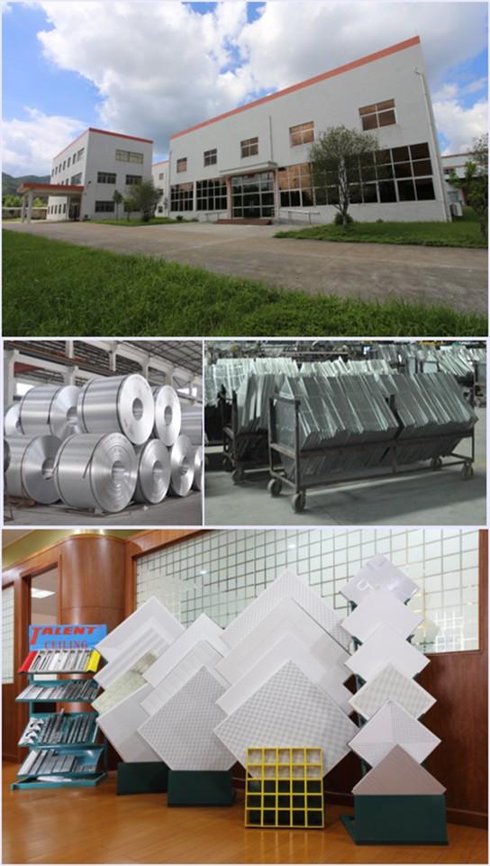Metal Ceiling Aluminum Grille Ceiling Panel Building Material ...