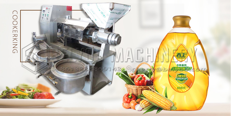 Coconut Groundnut Soybean Screw Oil Press Machine Oil Machine With Oil Filter