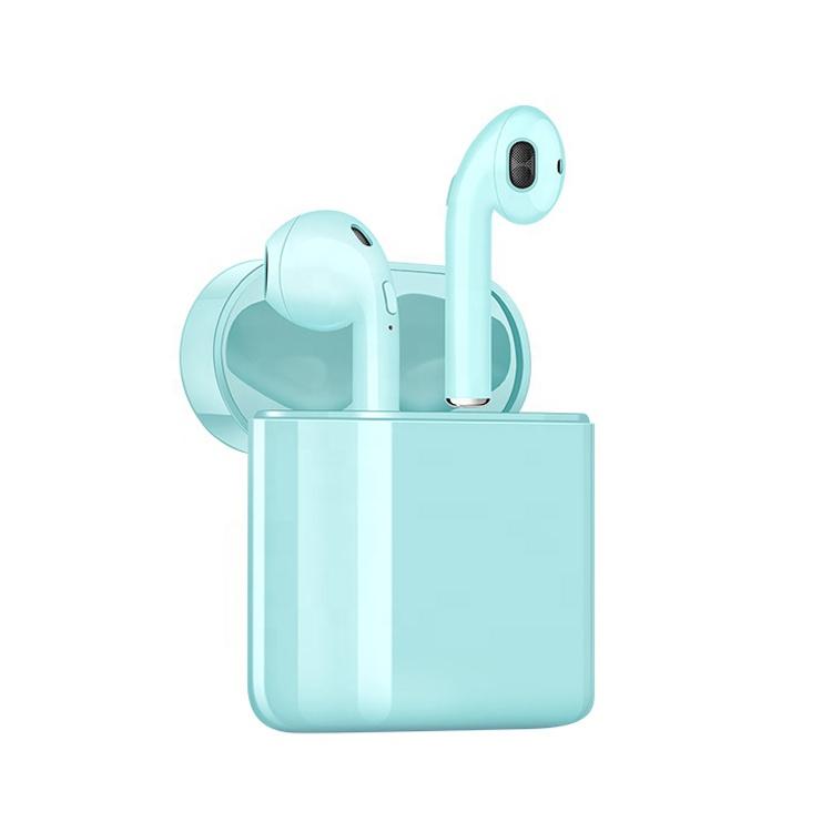 i20 Headphones, Waterproof Earbuds for Sport, Richer Bass HiFi Stereo In Ear Running Earphones w/Mic, Noise Cancelling Headset