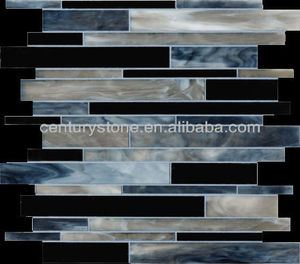 East Mesh Mounted Tiffany Style Stained Glass Art Mosaic Tile Backspash Tiles Wholesale