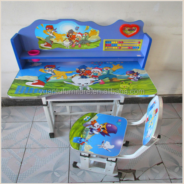 Charmant Kids Furniture Cartoon Picture Covered Kids Study Table   Buy Kids Study  Table,Kids Study Table,New Design Kids Study Table Product On Alibaba.com
