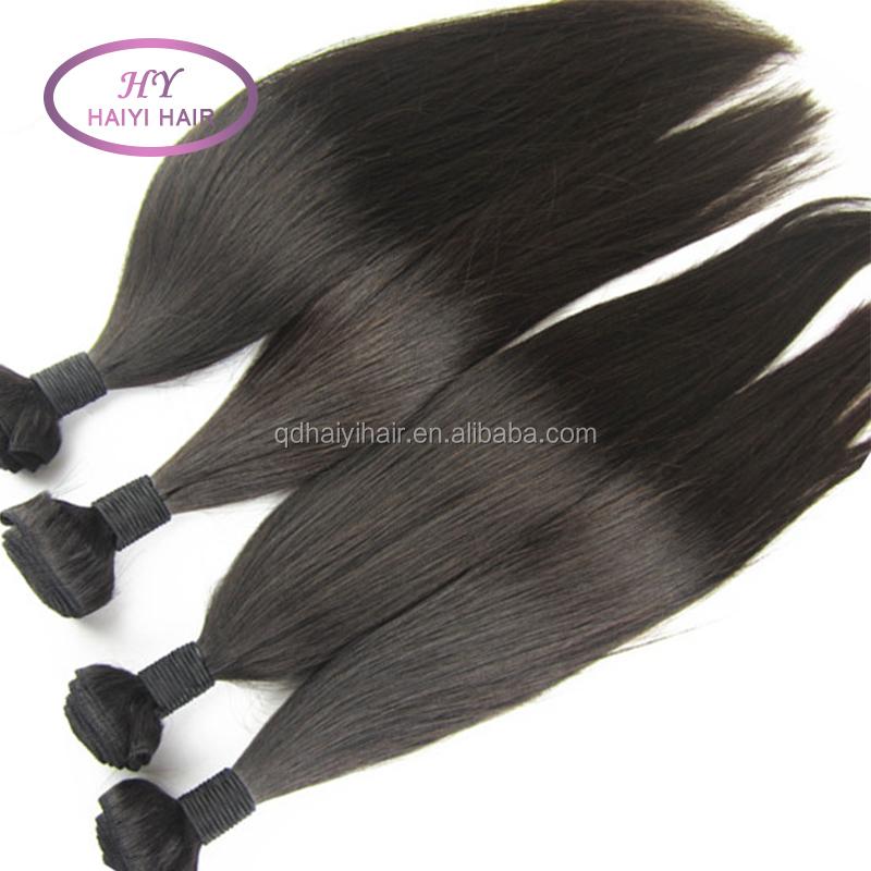 Wholesale Weave In New York 100 Percent Human Hair Silk Straight