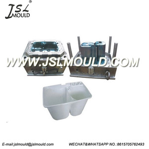 Double tube washing machine plastic mould