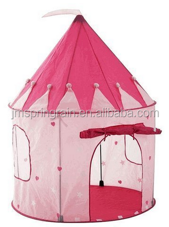 Castle Princess House Tent Kids Play Hut in Birthday Party