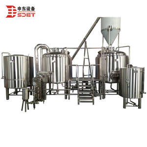 craft beer brewing equipment for micro brewery 500L 1000L per batch made in china for sale