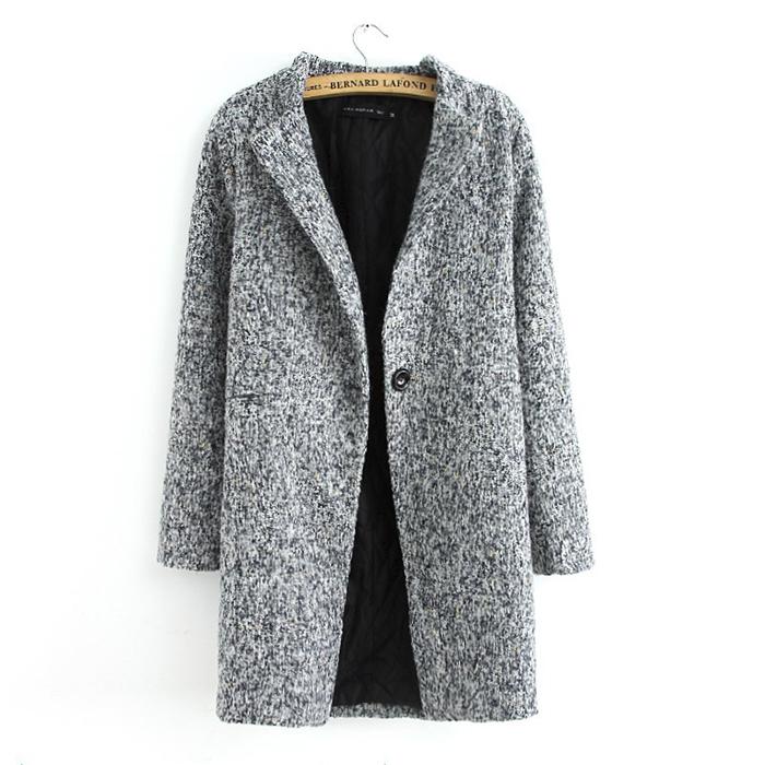 Grey wool jacket zara