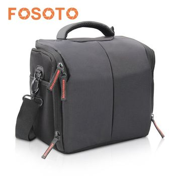 Fosoto Waterproof Dslr Camera Bag Case For Nikon D3300
