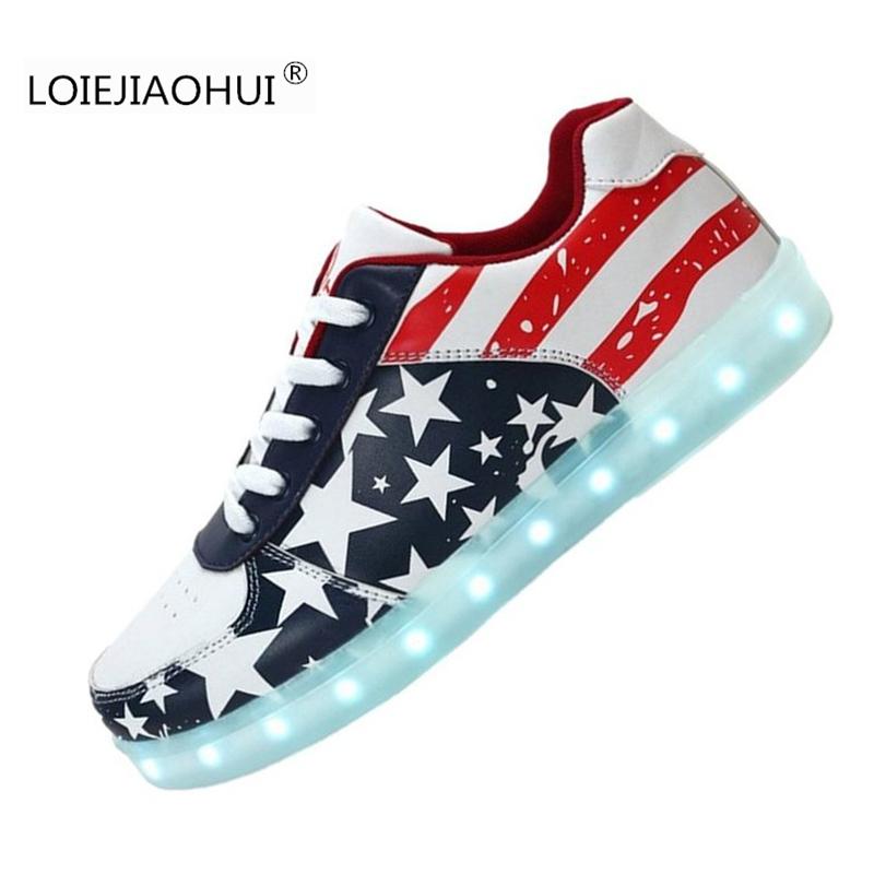 Popular American Flag Sneakers-Buy Cheap American Flag