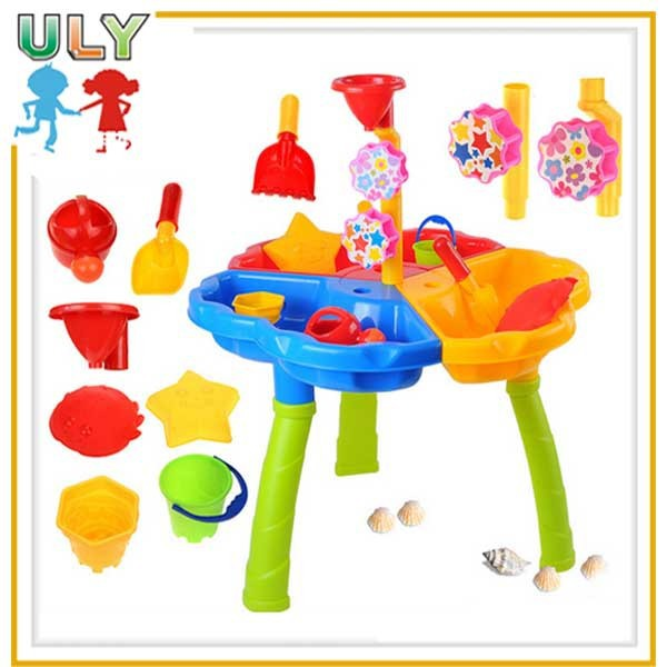 Kids beach toys outdoor play sand and water play table kids beach toy