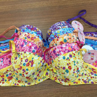 Custom teen bra girls lingerie girls sexy undergarments with nice printing