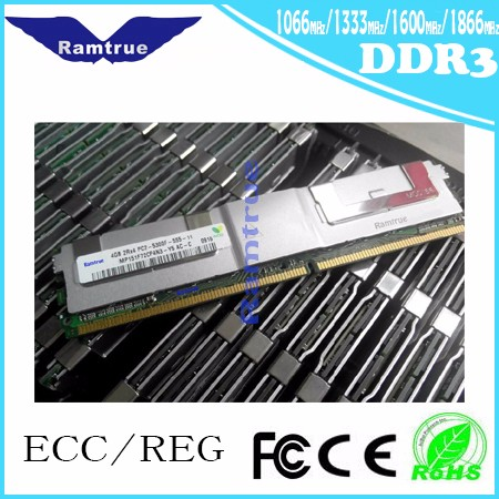 4G 4Rx8 PC3L-10600R DDR3 1333 ECC Registered Server Memory