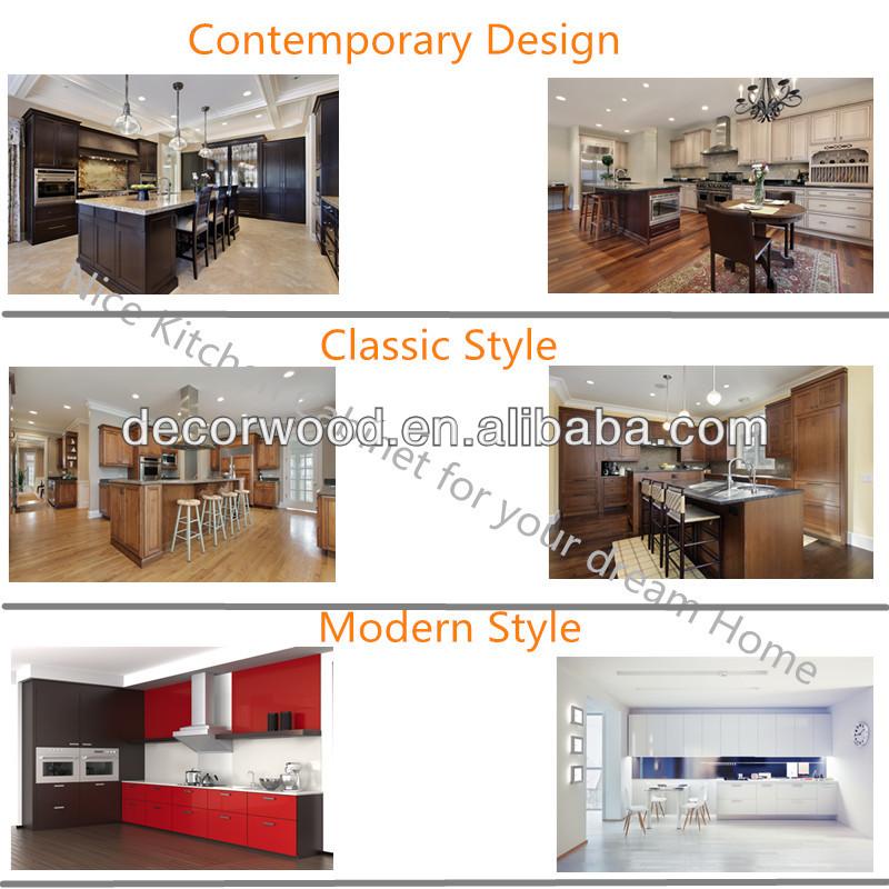 Shaker Door 3 Drawers Base Kitchen Cabinet Guangzhou