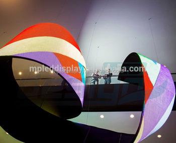 Flessibile dello schermo a led per interno per discoteca