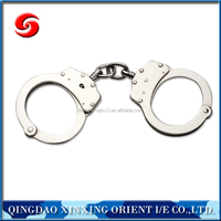 Police steel handcuff for sale