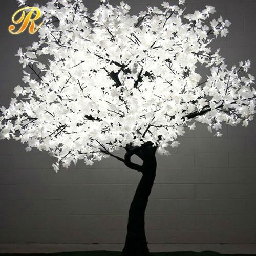 Hot sale decorative artificial flower with light