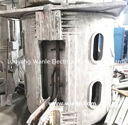 3T Aluminium Shell IF Induction Aluminium Melting Furnace