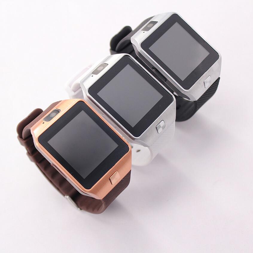 Hot sale bluetooth Black Silver Gold White color smartwatch dz09 PK a1 smart watch gt08