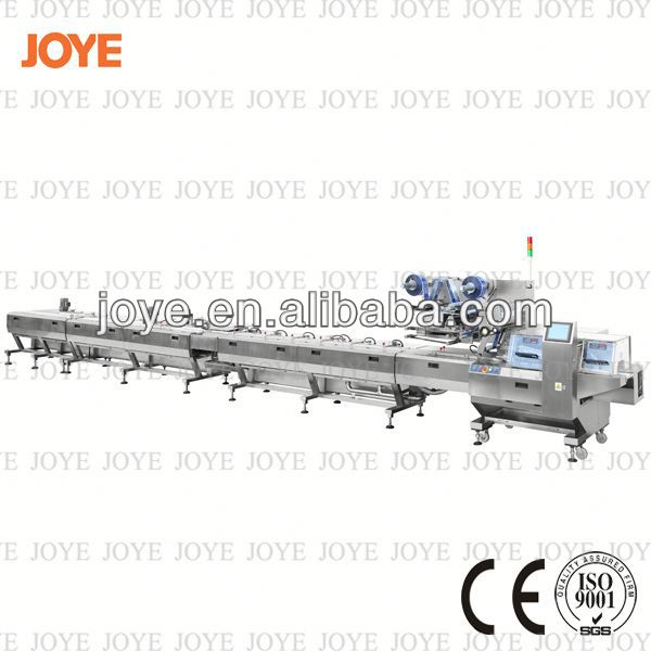Chocolate Candy Automatic Packing Line/Horizontal Packaging Machine For Candy JY-660/DXD-660 For Sale