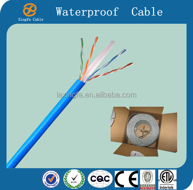China Cable Factory Hot Sell High Quality d-link 23awg cat6 lan cable