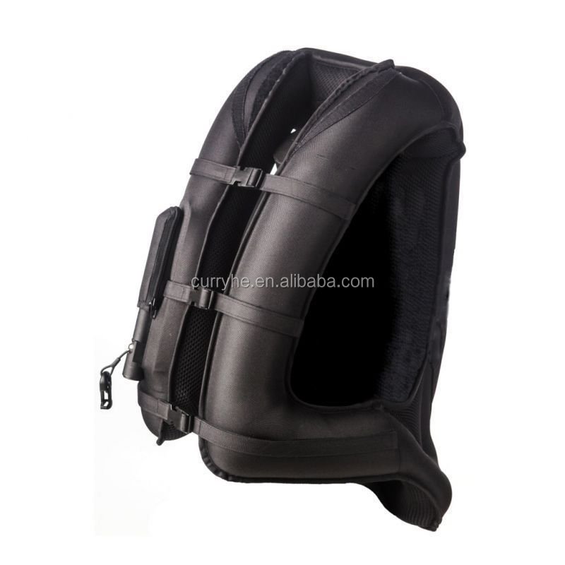 Shaohong OEM High Quality Low Price Vest air bag HELITE Turtle inflatable scooter motorcycle airbag jacket NEW