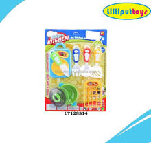 Plastic Playset Kids Mini Cooking Kitchen Toy