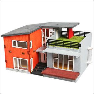 Corée En Bois Jouet Série De Maison Moderne Maison Kits - Buy Jouet En Bois  Product on Alibaba.com