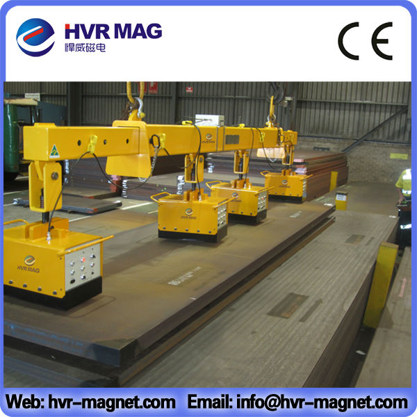steel pipe plate permanent large electromagnet lifting