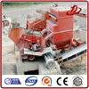 Industrial dust extraction system in raw material crushing
