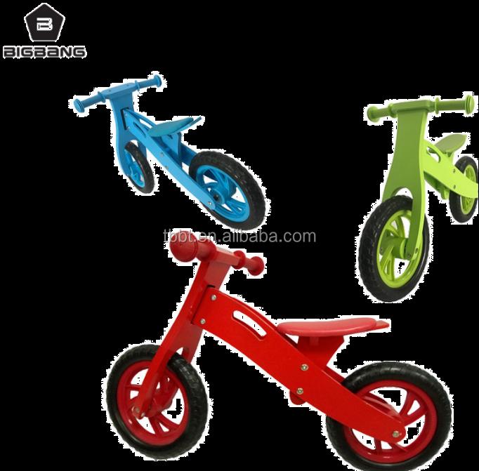 Bigbang Children Bike Kids Wooden Toys Two Wheels No Pedal Wooden Balance Bike For Toddlers Buy Children Wooden Bike No Pedal Push Bike Wood Baby Bike Product On Alibaba Com