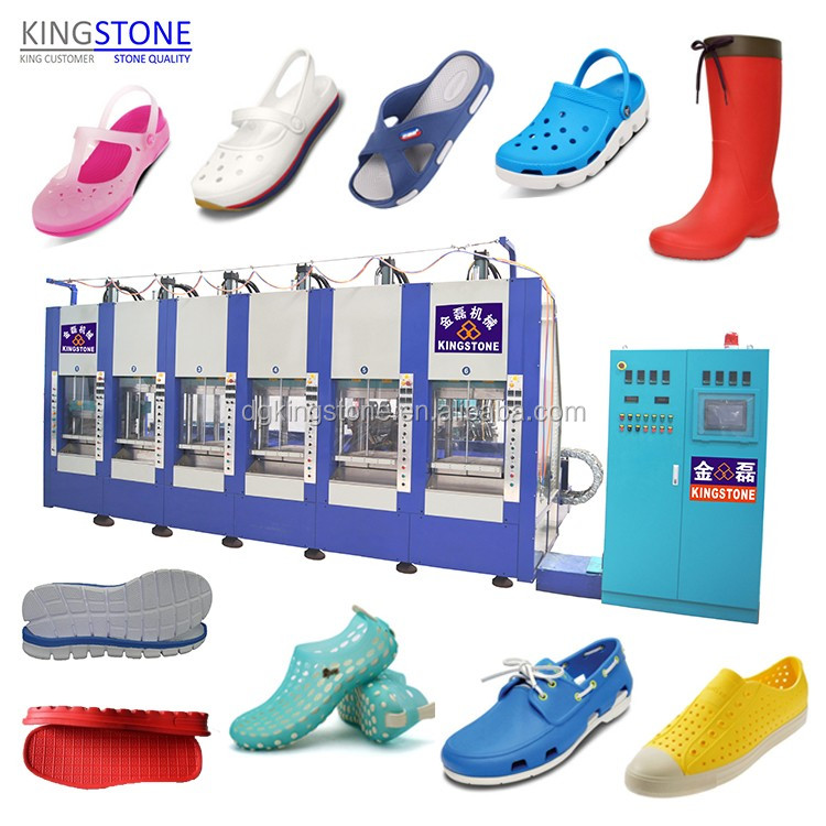 EVA Footwear Manufacturing Machine for Shoes Sole Boots JL-198