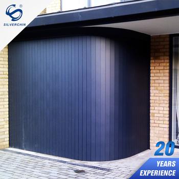 Wholesale Aluminium Alloy Carbarn Gate 16X7 Stainless Steel Round The  Corner Side Sliding Garage Door