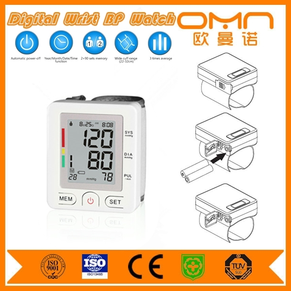 Omron health care device digital wrist welby blood pressure monitor