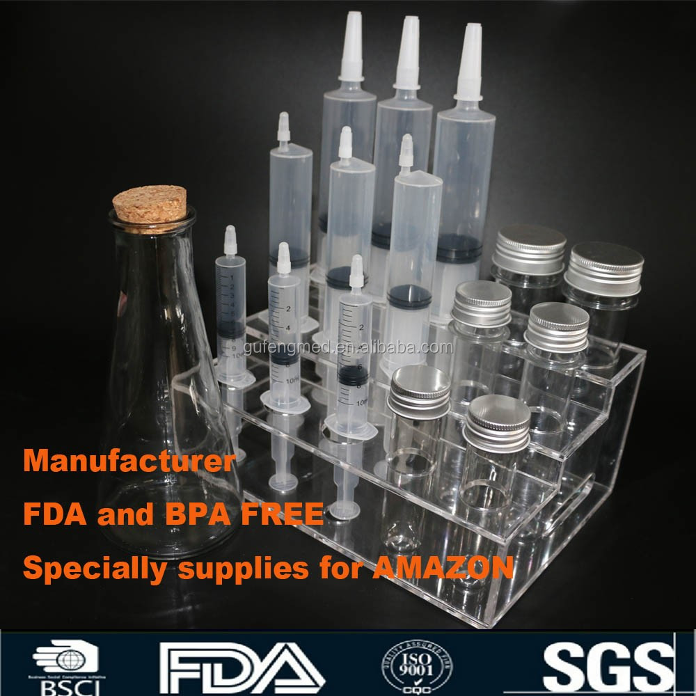 FDA certification Jello Shot Racking Tray for Small Syringe (Hold 25 Syringes)