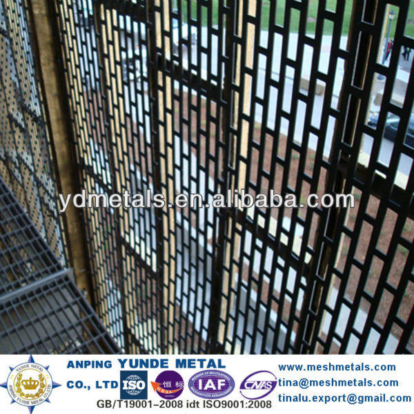 fassade balkon rechteckigen lochblechplatte der decke